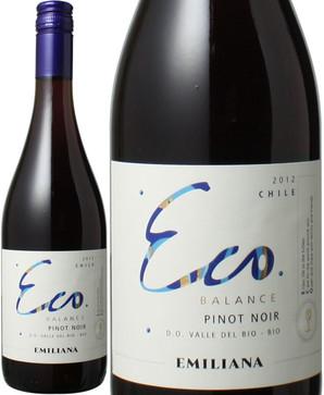 エコ・バランス ピノ・ノワール [2017] エミリアーナ・ヴィンヤーズ <赤> <ワイン/チリ> ※ヴィンテージが異なる場合がございます