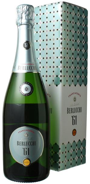 ベルルッキ61 フランチャコルタ サテン ギフトポックス NV ベルルッキ <白> <ワイン/スパークリング>