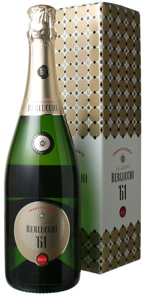 ベルルッキ61 フランチャコルタ ブリュット ギフトボックス NV ベルルッキ <白> <ワイン/スパークリング>
