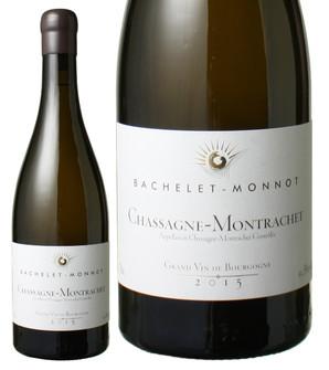 シャサーニュ・モンラッシェ [2015] バシュレ・モノ <白> <ワイン/ブルゴーニュ>