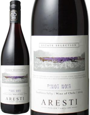 アレスティ ピノ・ノワール [2018] <赤> <ワイン/チリ>※ヴィンテージが異なる場合があります。