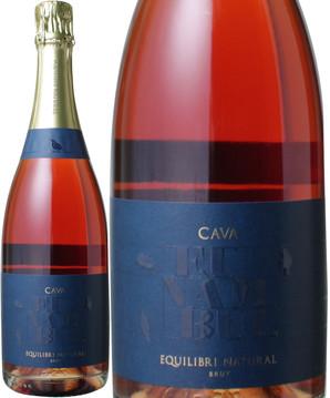 カヴァ・フナンブル・ブリュット NV エキリブリ・ナチュラル <ロゼ> <ワイン/スペイン/スパークリング>
