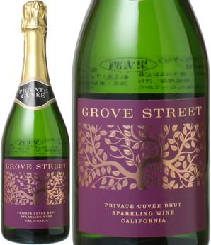 グローヴ・ストリート プライヴェート・キュヴェ NV <白> <ワイン/アメリカ/スパークリング>