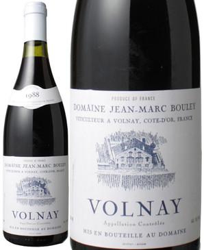 ヴォルネイ [1988] ジャン・マルク・ブーリー <赤> <ワイン/ブルゴーニュ>