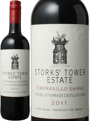 ストークス・タワー テンプラリーニョ・シラーズ カスティーリャ・イ・レオン <赤> [2017] <ワイン/スペイン> ※ヴィンテージが異なる場合がございますのでご了承ください