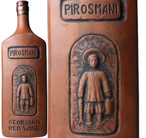 ピロスマニ 陶器ボトル [2016] <赤> <ワイン/グルジア> ※ヴィンテージが異なる場合がございます。