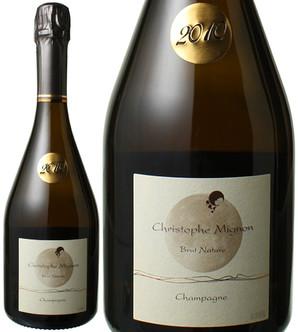 クリストフ・ミニョン ミレジム・ブリュット・ナチュール(ムニエ100%)[2010] <白> <ワイン/シャンパン>
