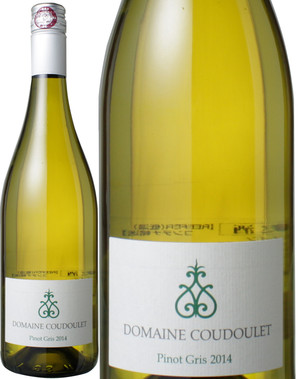 ペイドック・ピノ・グリ [2015] ドメーヌ・クードレ <白> <ワイン/ラングドック・ルーション>(スクリューキャップ)