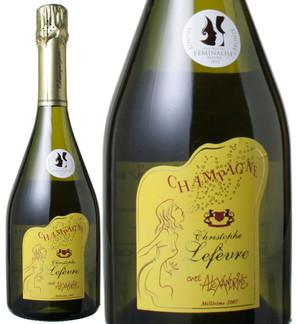 クリストフ・ルフェーヴル ブリュット・キュヴェ・アレクサンドリーヌ [2007] <白> <ワイン/シャンパン>