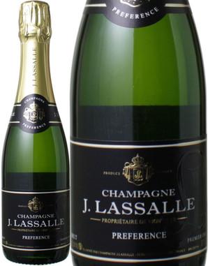 ジュール・ラサール ブリュット・プレファレンス ブリュット ハーフサイズ 375ml NV <白> <ワイン/シャンパン>
