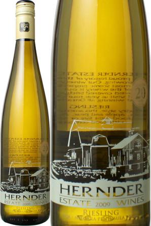 ハーンダー ナイアガラ・リースリング [2010] ハーンダー・エステート・ワインズ <白> <ワイン/カナダ>