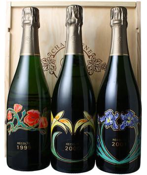 ブノワ・ライエ コフレ・キュヴェ・コレクション(レコルト1999,2000,2001)3本セット <白> <ワイン/シャンパン>