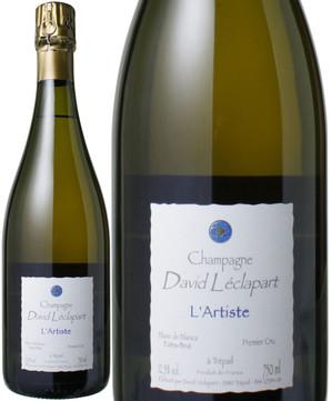 ダヴィッド・レクラパール ラルティスト・ブラン・ド・ブラン [2009] <白> <ワイン/シャンパン>