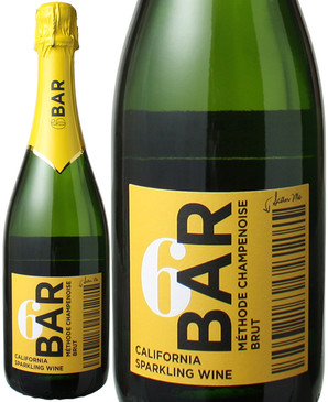 シックス・バール・ワインズ(6 バール・ワインズ) メトード・シャンプノワーズ ブリュット NV <白> <ワイン/スパークリング>