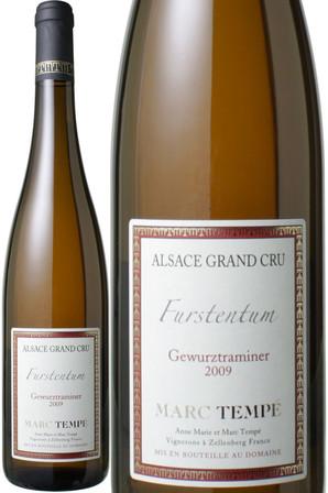 アルザス ゲヴュルツトラミネール フルシュタンチュム [2012] ドメーヌ・マルク・テンペ <白> <ワイン/アルザス>