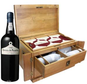 キンタ・ド・ヴェスヴィオ アニバーサリーケース入り 8本セット ポートワイン <赤> <ワイン/ポルトガル>