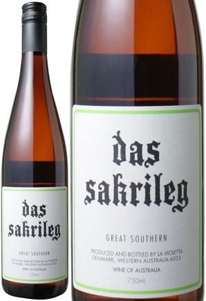 【10%OFF!!】ダ・サクリレグ リースリング [2012] ラ・ヴィオレッタ <白> <ワイン/オーストラリア>
