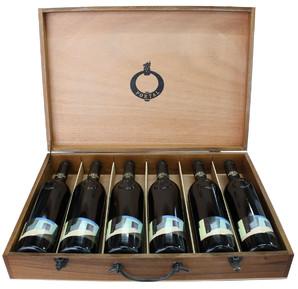 キンタ・ド・ポルタル・ティント・リゼルヴァ(6本セット) [2001×2、1999×2、1996×2] 専用木箱入<赤> <ワイン/ポルトガル>