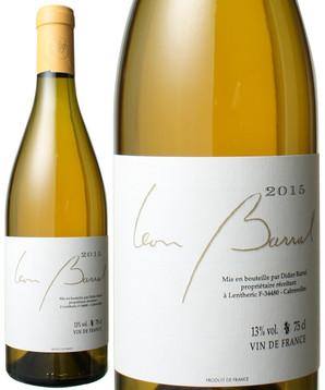 VDF ブラン・レロー [2015] ドメーヌ・レオン・バラル <白> <ワイン/ラングドック・ルーション>