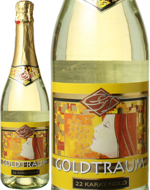 ゴールドトラウム スパークリング・ホワイト 金箔入り NV <白> <ワイン/ドイツ/スパークリング>