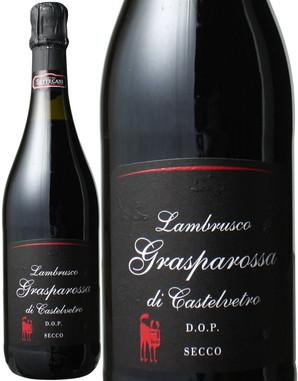 ランブルスコ・グラスパロッサ・ディ・カステルヴェトロ セッコ NV カンティーナ・セッテカーニ <赤> <ワイン/スパークリング>