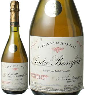 アンドレ・ボーフォール ブリュット グランクリュ ミレジメ [1986] <白> <ワイン/シャンパン>