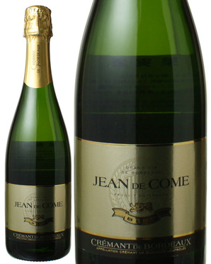 クレマン・ド・ボルドー NV ジャン・ド・コム <白> <ワイン/スパークリング>