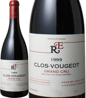 クロ・ド・ヴージョ [1999] ルネ・アンジェル <赤> <ワイン/ブルゴーニュ>