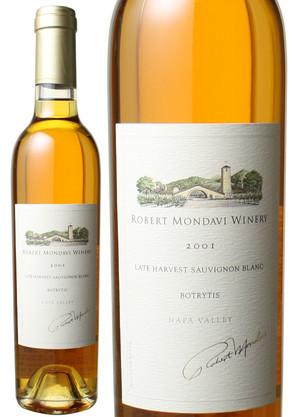 ロバート・モンダヴィ ソーヴィニヨン・ブラン ボトリティス ハーフサイズ 375ml [2001] <白> <ワイン/アメリカ>
