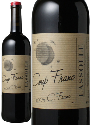 VDF ルージュ・クー・フラン [2011] シャトー・ラッソル <赤> <ワイン/フランス南西部>