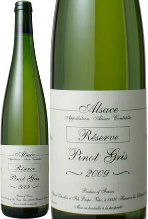 アルザス ピノ・グリ レゼルヴ [2009] ドメーヌ・ジェラール・シュレール <白> <ワイン/アルザス>