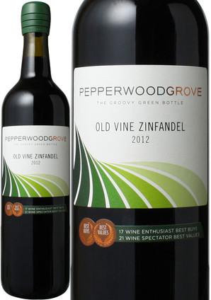 オールド・ヴァイン ジンファンデル カリフォルニア [2016] ペッパーウッド・グローヴ <赤> <ワイン/アメリカ> ※ヴィンテージが異なる場合があります。