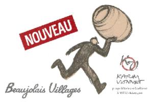 ボージョレ・ヴィラージュ・ヌーヴォー [2018] カリーム・ヴィオネ <赤> <新酒> <ワイン/ボージョレ>