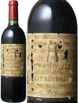 シャトー・ラトゥール [1979] <赤> <ワイン/ボルドー>
