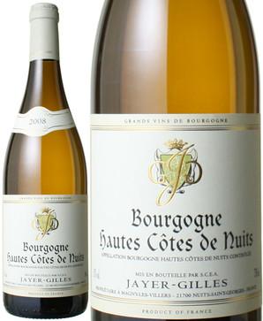 ブルゴーニュ オート・コート・ド・ニュイ・ブラン [2008] ジャイエ・ジル <白> <ワイン/ブルゴーニュ>