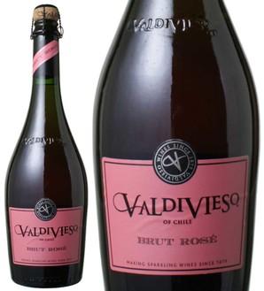 ヴァルディヴィエソ ブリュット・ロゼ NV <ロゼ> <ワイン/チリ/スパークリング>