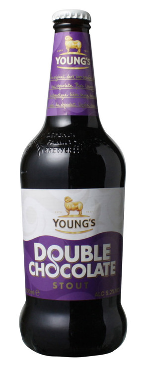 【これぞ!チョコレートビール!】 ヤング ダブルチョコレートスタウト 5.2% 500ml