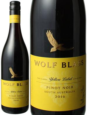 ウルフ・ブラス イエローラベル ピノ・ノワール [2016] <赤> <ワイン/オーストラリア>